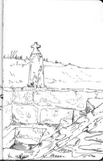 Menhir christianisé