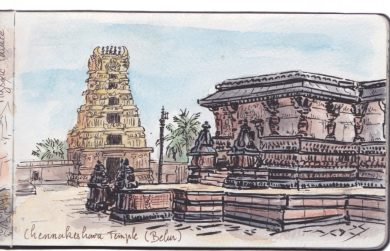 Temple Chennakeshava à Belur