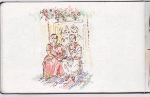 Anniversaire de mariage indien