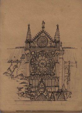 Notre de Dame de Paris (Façade sud)