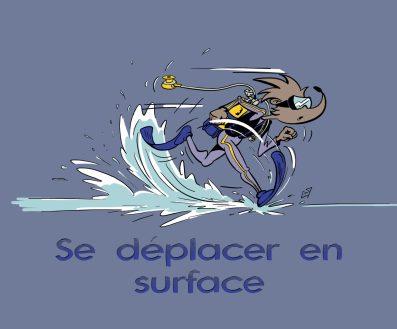"""Formation club de plongée : compétence """"Se deplacer en surface"""""""