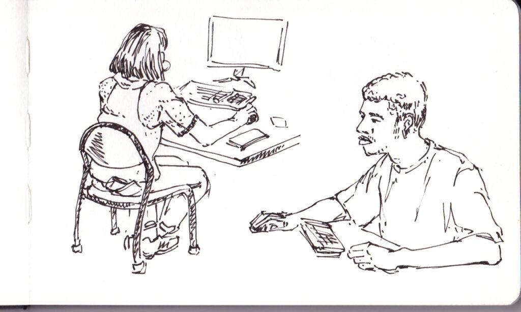 Surveillance d'examen informatique