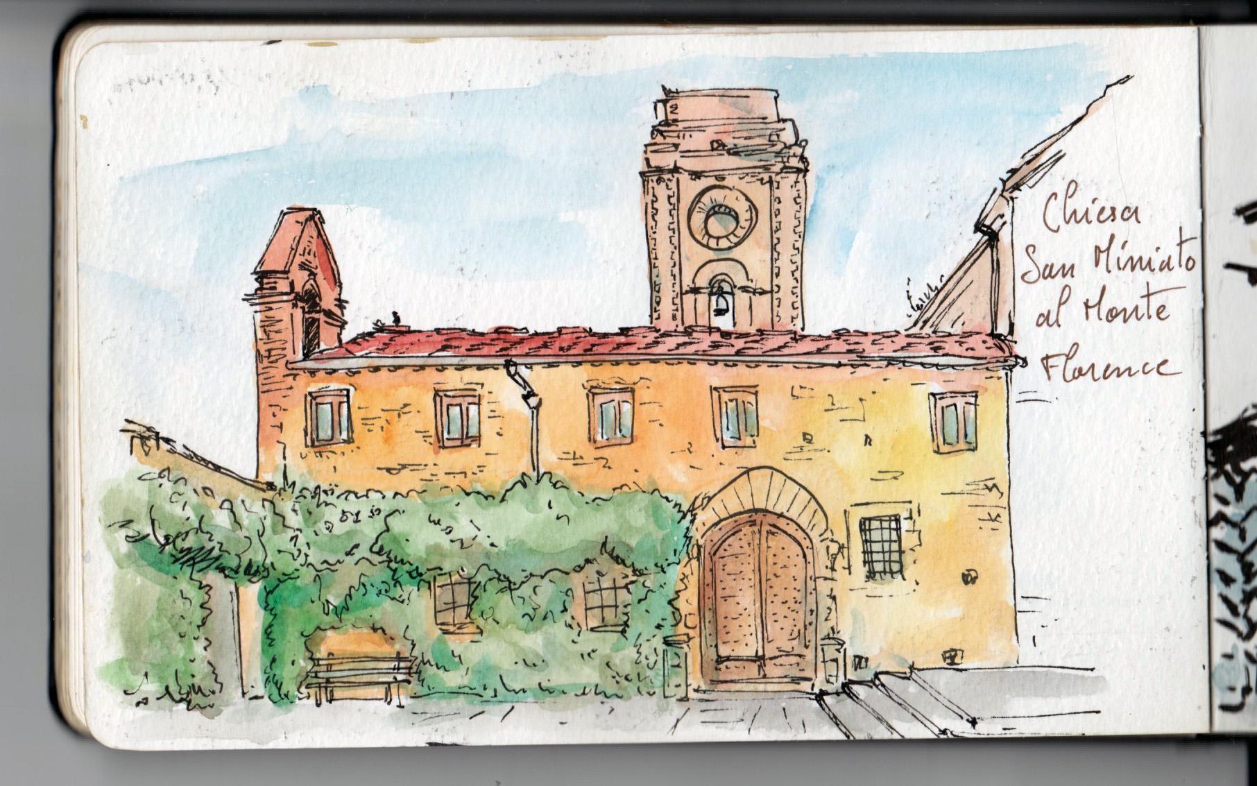 Chiesa San Miniato al Monte — Florence