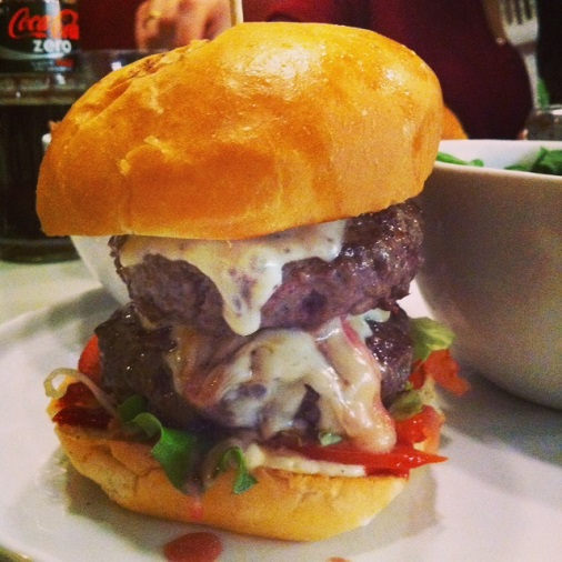 burger bar à burger