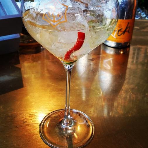 veuve clicquot rich cocktail poivron