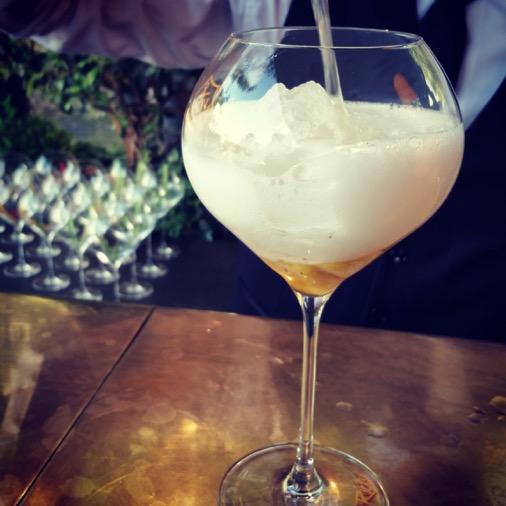 veuve clicquot rich cocktail ananas