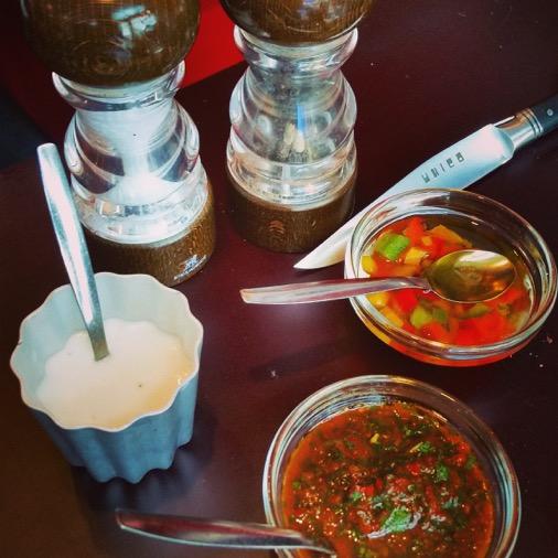 restaurant unico argentin paris sauces salsa