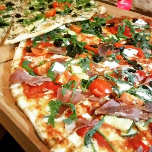 pizza géante papelli paris