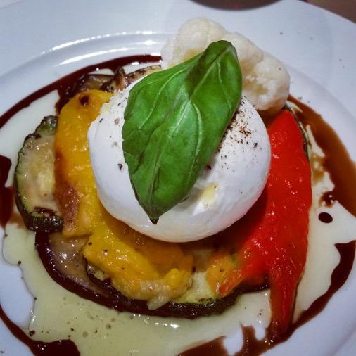 restaurant oliva italien traditionnel paris 08  antipasti mozzarella