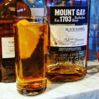 mount gay rhum cocktail