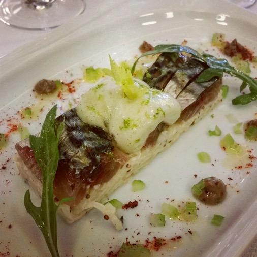 le petit sommelier restaurant paris plat poisson