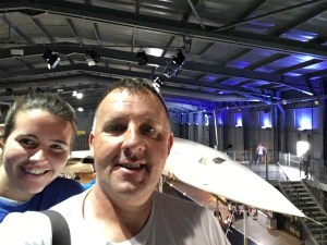 Father and Daughter this time with Concorde 002