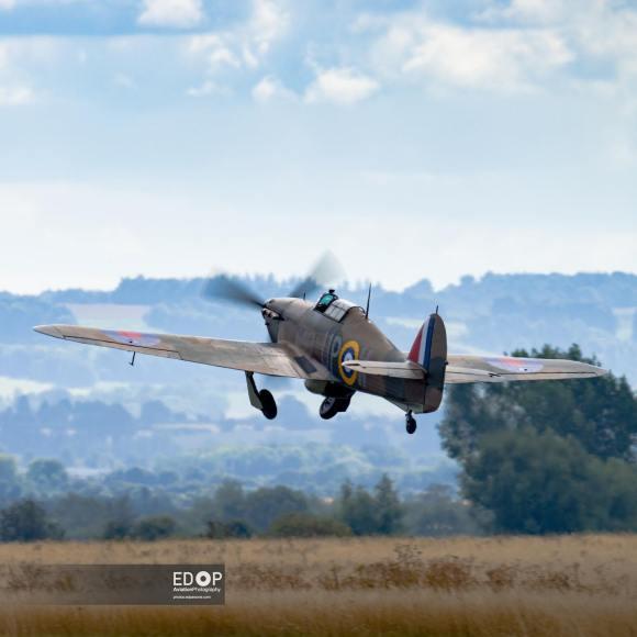 Scramble @hurricaneheritage takes to the air @abingdonair_countryshow