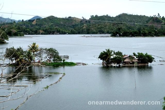 2 islets lake sebu mindanao