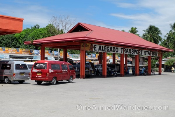 Alegado transport station Glan sarangani