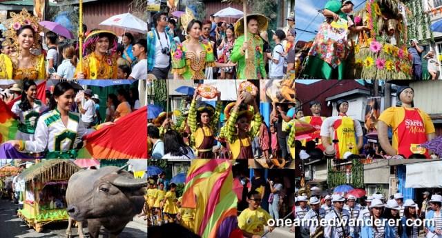 Pahiyas Festival parade lucban quezon