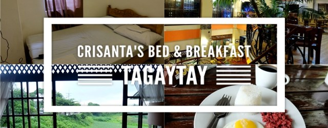 Crisanta's Bed and Breakfast Tagaytay Philippines