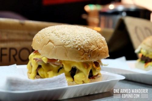 Bacon Mushroom Melt @ Tsabs