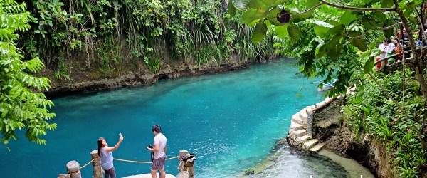 Enchanted River in Hinatuan, Surigao del Sur