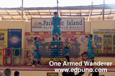 circus at Paradise Island