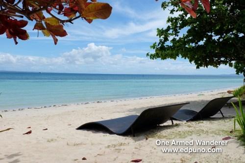 Stylish beach beds
