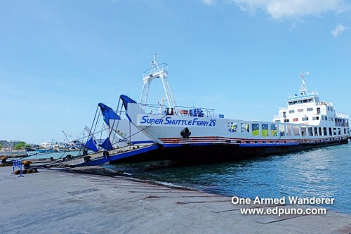 Super Shuttle Ferry to Bantayan Island