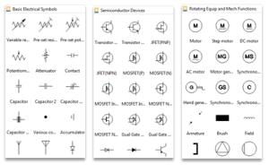 Schaltplan Software  schematische Darstellung leicht erstellen