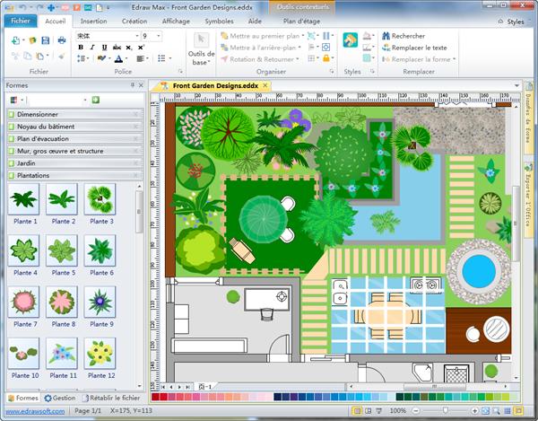 Logiciel De Plan De Jardin Creer Des Plans De Plan De Jardin Simples