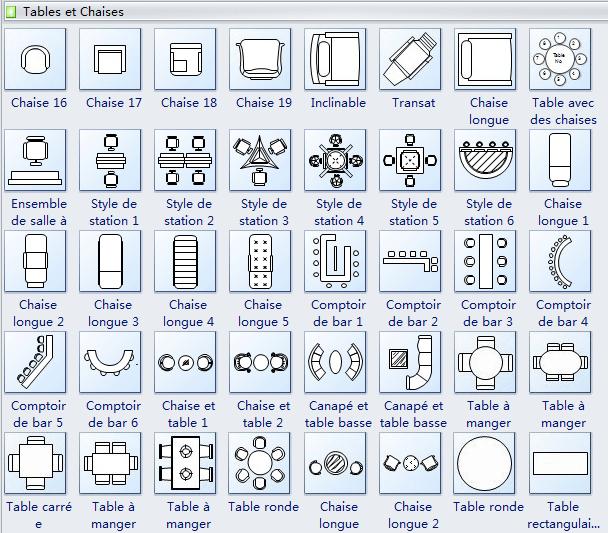 Symboles De Plan De Maison