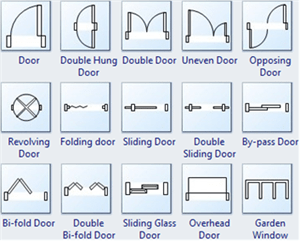Autocad Block Sliding Door Plan Autocad Design Pallet