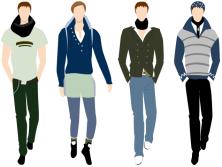 Image result for fashion men vector