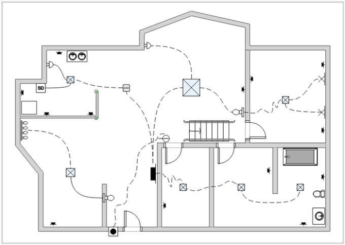 visio floor plan tutorial pdf
