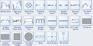 Evacuation Diagram Symbols
