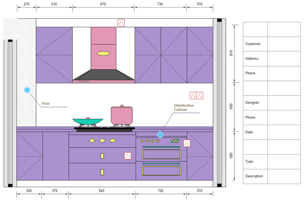 Design Your Own Kitchen Template
