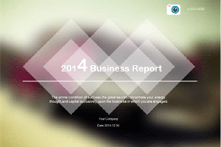 Customizable Business Plan Presentation Templates   Free Download Business Report 300