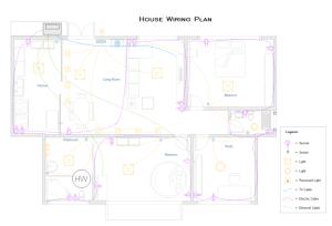 Home Wiring Plan Software  Making Wiring Plans Easily