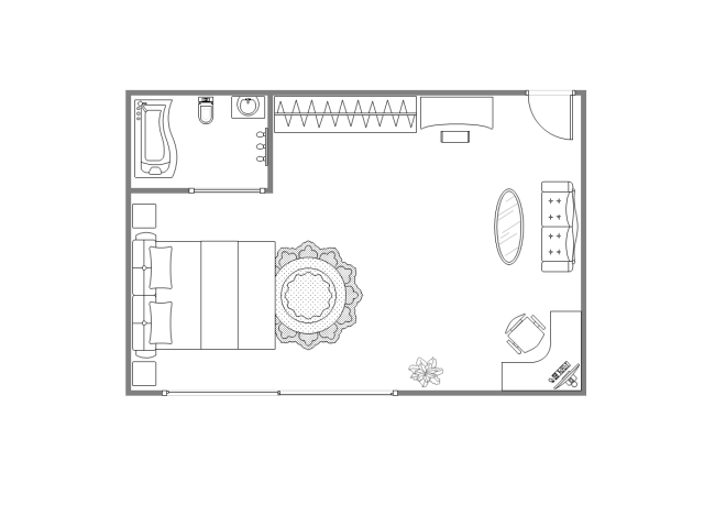 Best bedroom designs plans for Bedroom design template