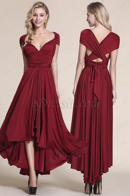 EDressit Convertible High Low Bridesmaid Dress Prom Dress