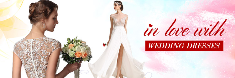gorgeous wedding dress banner