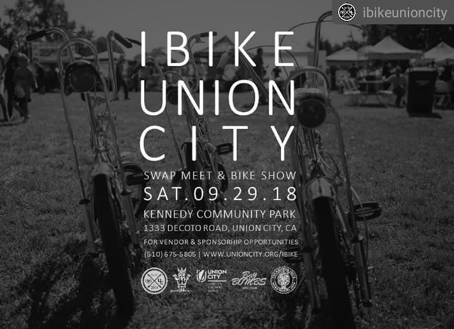 9/29/18 iBike Union City Bike Show & Swap Meet