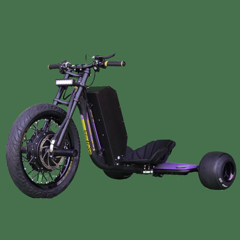 eDriftTrikes - High Power Electric Drift Trike Front Quarter
