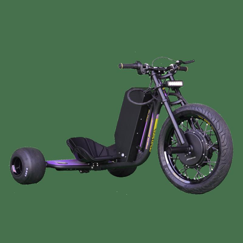 eDriftTrikes - High Power Electric Drift Trike Front Right Quarter