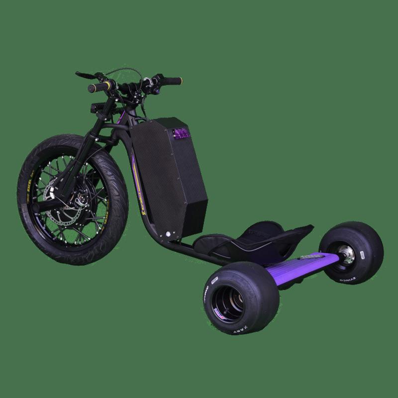 eDriftTrikes - High Power Electric Drift Trike Left Rear