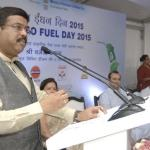 The launch of high speed diesel blended biofuels