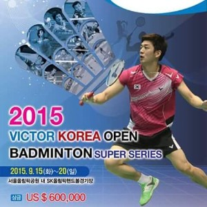 Victor Korea Open -2015