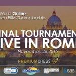 1st FIDE World Online Women Blitz Championship 2015