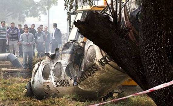10 BSF Personnel Killed As Aircraft Crashes Near Delhi