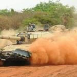 Test Firing of New Tank Ammunition for Arjun MBT
