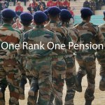 One Rank One Pension (OROP) implementation tables issued