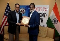 Amitabh Bachchan honoured by US Embassy